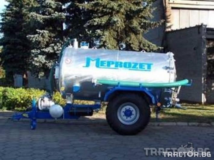 Ремаркета и цистерни Цистерна за течен тор Meprozet 0 - Трактор БГ