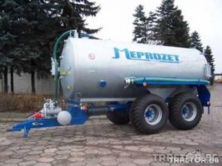 Ремаркета и цистерни Цистерна за течен тор Meprozet 3 - Трактор БГ