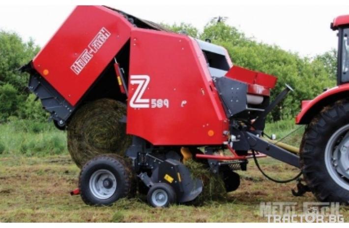 Сламопреси Сламопреса Metal-Fach Z-589/2 - Варио 0 - Трактор БГ