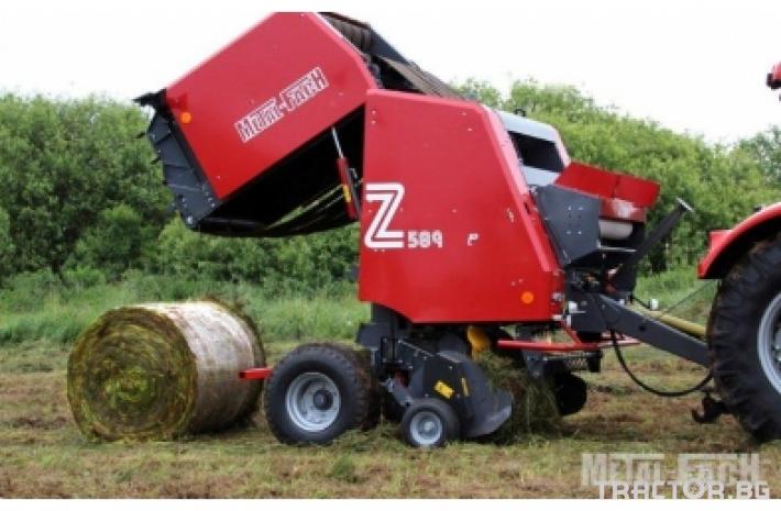 Сламопреси Сламопреса Metal-Fach Z-589/2 - Варио 1 - Трактор БГ
