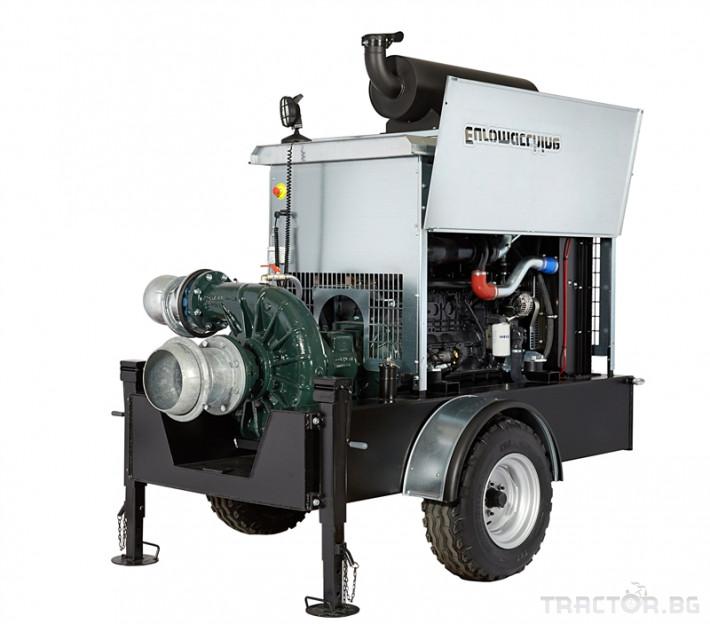 Напоителни системи Мотопомпи Euromacchine, с помпи CORNELL 2 - Трактор БГ