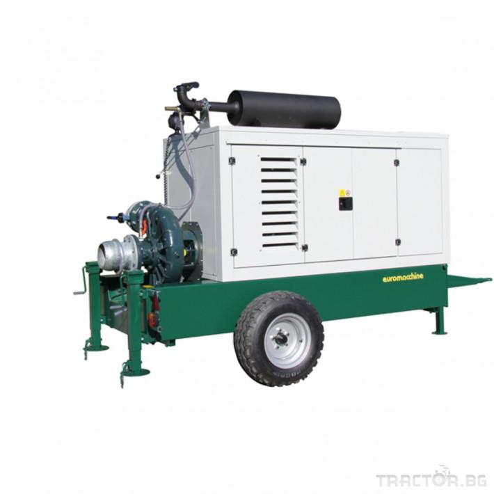 Напоителни системи Мотопомпи Euromacchine, с помпи CORNELL 4 - Трактор БГ