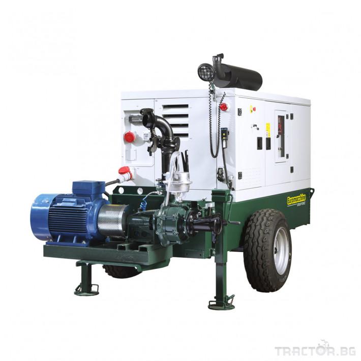 Напоителни системи Агрегати Lampo Green с хоризонтална помпа 0