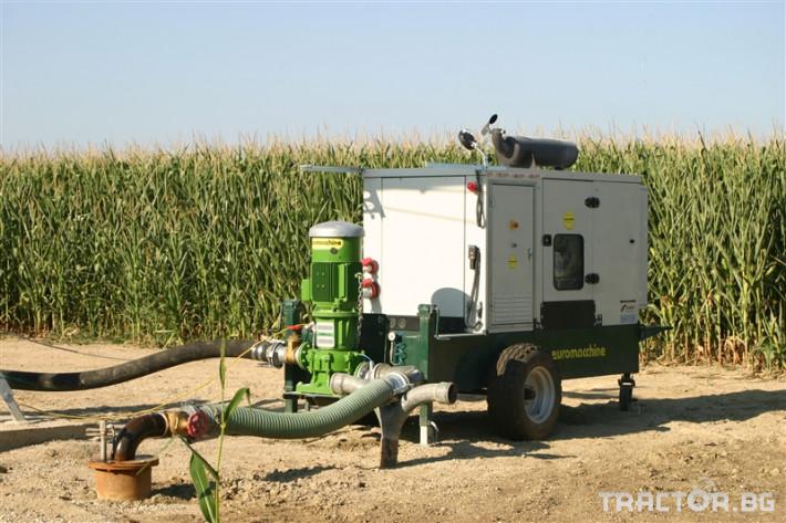 Напоителни системи Агрегати Lampo Green с хоризонтална помпа 2