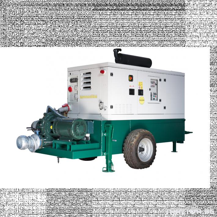 Напоителни системи Агрегати Lampo Green с хоризонтална помпа 5