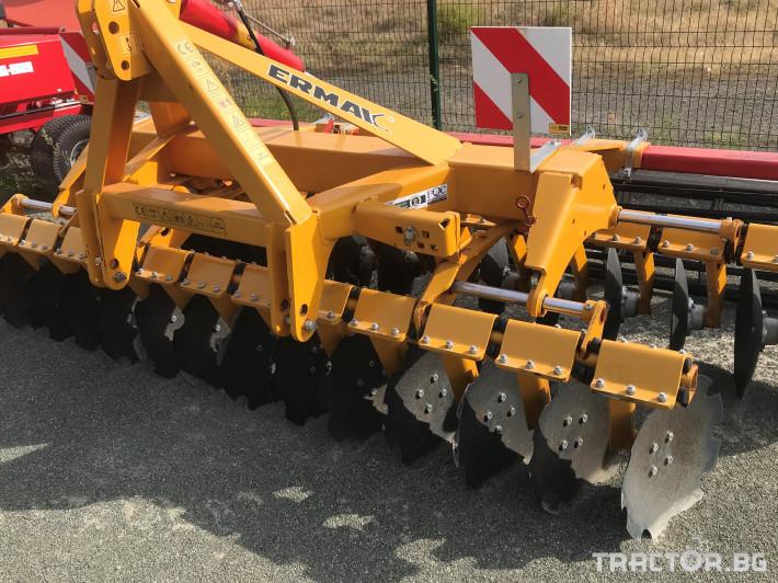 Брани Навесна дискова брана Ermak 3,50 м. 0 - Трактор БГ