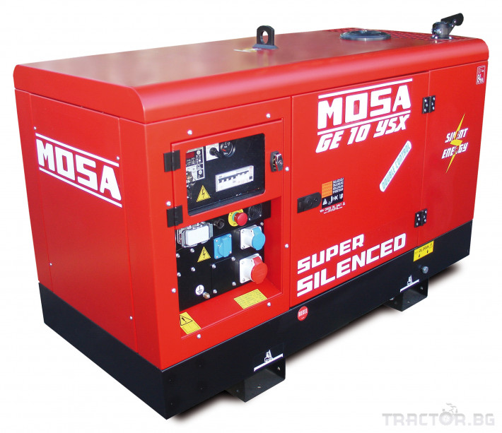Други Дизелови генератори Mosa 1500 об./мин., произход Италия 0 - Трактор БГ