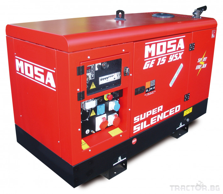 Други Дизелови генератори Mosa 1500 об./мин., произход Италия 1 - Трактор БГ