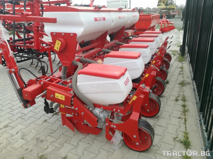 Сеялки 6-редова сеялка с торовнасяне Azim 1 - Трактор БГ