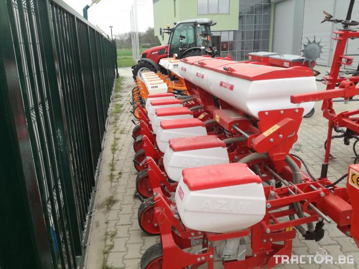 Сеялки 6-редова сеялка с торовнасяне Azim 0 - Трактор БГ