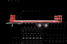 Платформа (ремарке) за превоз на бали, марка Essan