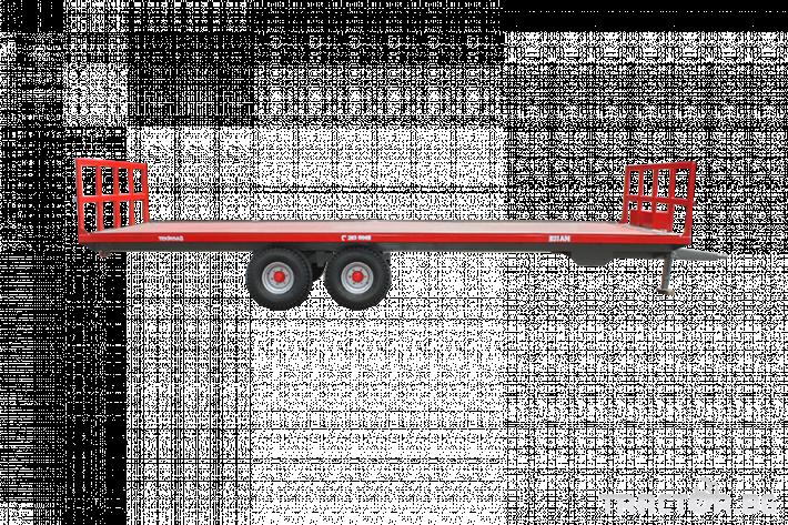 Ремаркета и цистерни Платформа (ремарке) за превоз на бали, марка Essan 1
