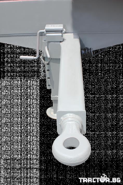 Ремаркета и цистерни Платформа (ремарке) за превоз на бали, марка Essan 7