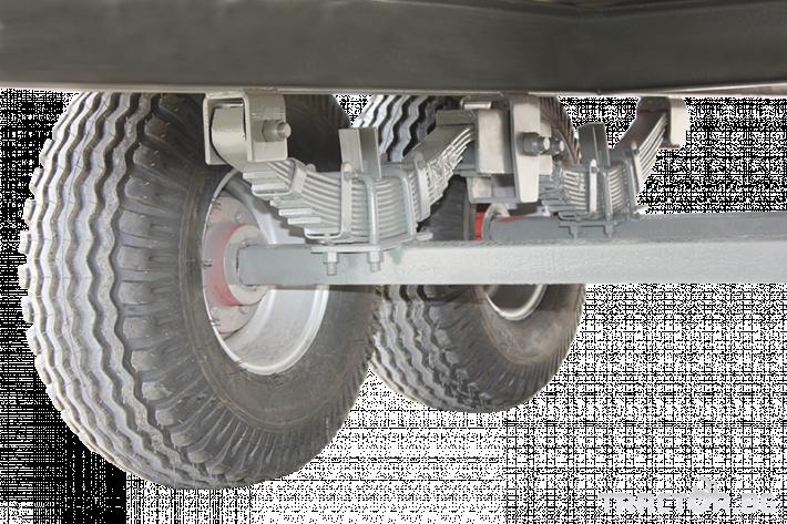 Ремаркета и цистерни Платформа (ремарке) за превоз на бали, марка Essan 9