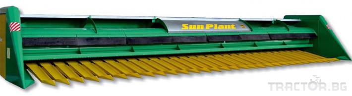 Хедери за жътва Безредови адаптер за слънчоглед марка УСМ модел Sun Plant - 9.4 1 - Трактор БГ