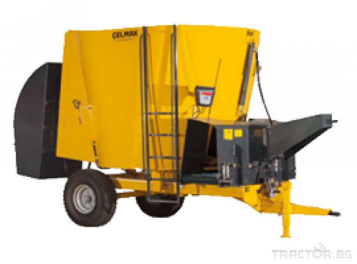 Машини за ферми Фуражен миксер Celmak(5 m3) 0 - Трактор БГ