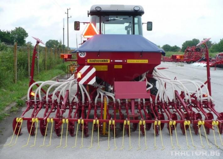 Сеялки Пневматична сеялка за есенни култури СПУ 0 - Трактор БГ