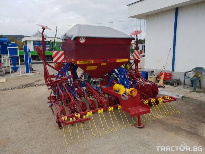 Сеялки Пневматична сеялка за есенни култури СПУ 2 - Трактор БГ