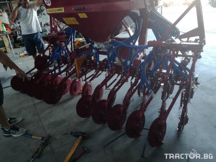 Сеялки Пневматична сеялка за есенни култури СПУ 6 - Трактор БГ