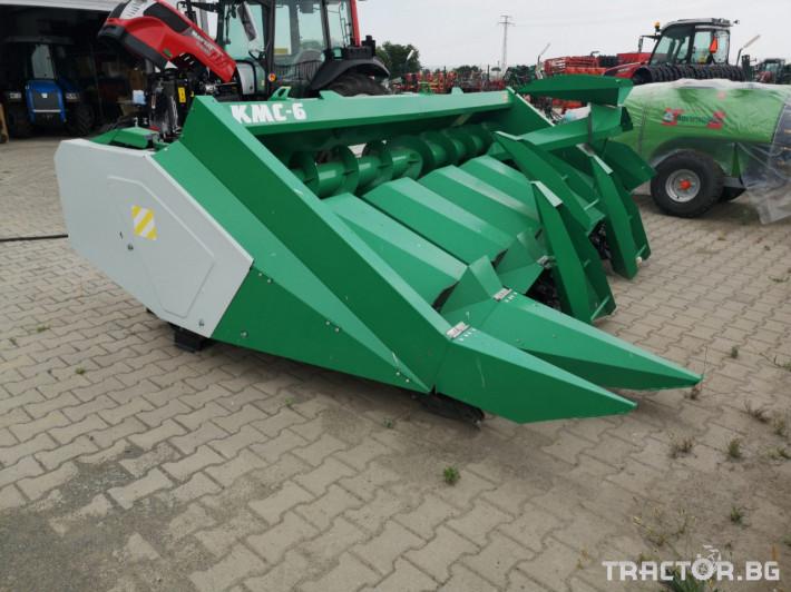 Хедери за жътва Хедер за царевица USM модел KMC 6- 18 (Украйна) 0 - Трактор БГ