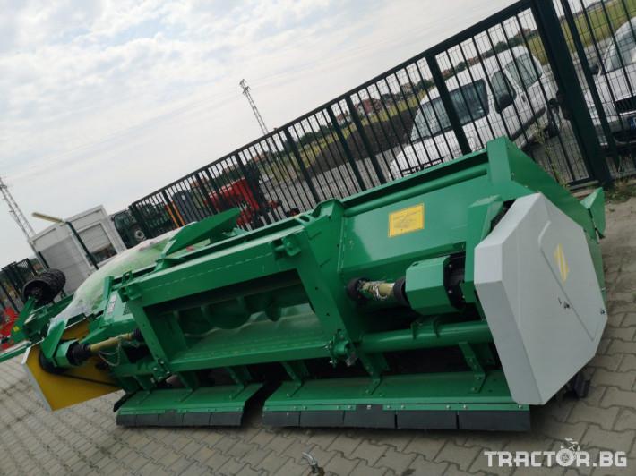 Хедери за жътва Хедер за царевица USM модел KMC 6- 18 (Украйна) 2 - Трактор БГ