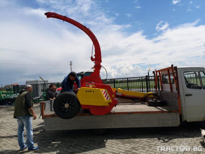 Други Силажираща машина - Укрсельхозмаш - Украйна, КРП РОС 2 1 - Трактор БГ
