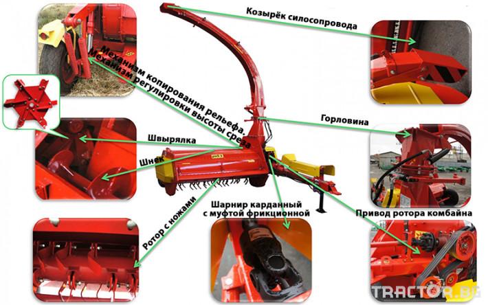 Други Силажираща машина - Укрсельхозмаш - Украйна, КРП РОС 2 8 - Трактор БГ