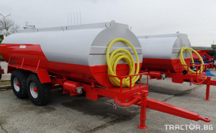 Ремаркета и цистерни Цистерни ESSAN 0 - Трактор БГ