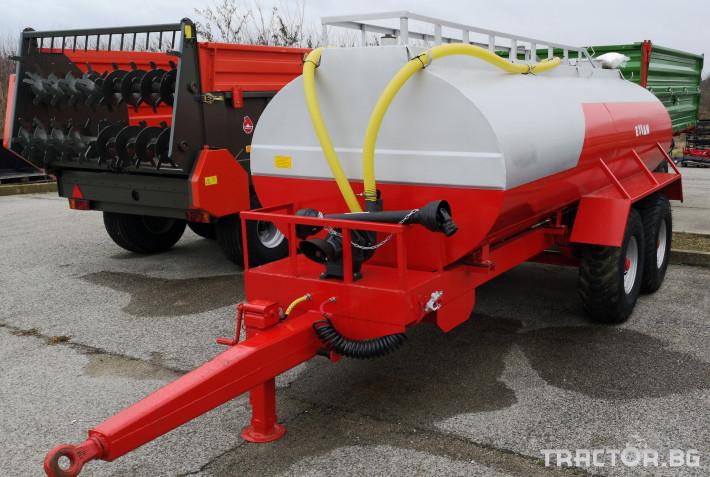 Ремаркета и цистерни Цистерни ESSAN 1 - Трактор БГ
