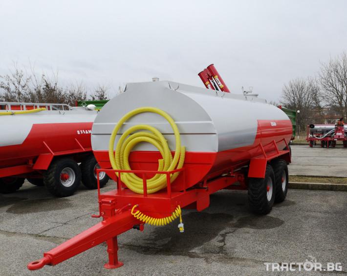 Ремаркета и цистерни Цистерни ESSAN 2 - Трактор БГ