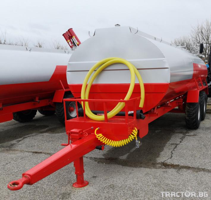 Ремаркета и цистерни Цистерни ESSAN 3 - Трактор БГ