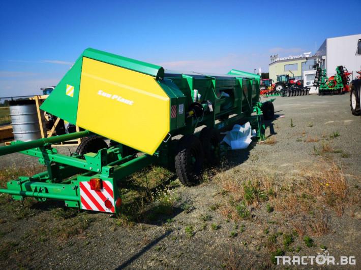 Хедери за жътва Безредови адаптер за слънчоглед УСМ(Украйна) модел Sun Plant - 7.4 0 - Трактор БГ