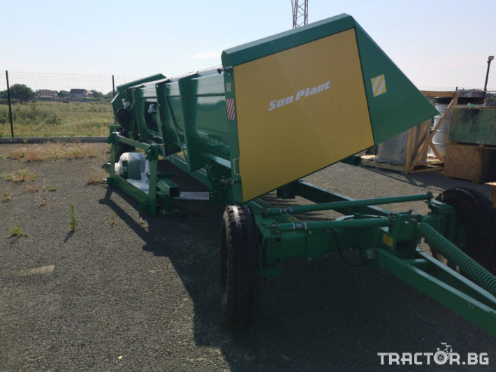 Хедери за жътва Безредови адаптер за слънчоглед УСМ(Украйна) модел Sun Plant - 7.4 4 - Трактор БГ