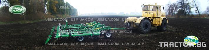 Култиватори Култиватор за слята повърхност (прикачни) USM, Украйна 9 - Трактор БГ