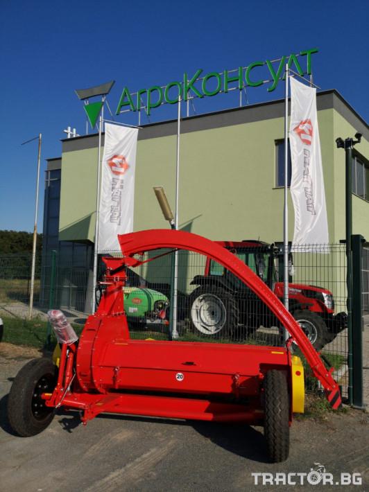 Други Силажираща машина - Укрсельхозмаш - Украйна, КРП РОС 2 7 - Трактор БГ