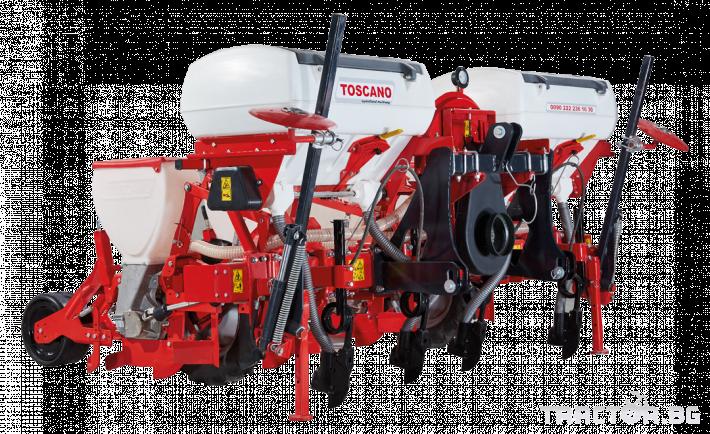 Сеялки Прецизна пневматична сеялка TOSCANO 0 - Трактор БГ