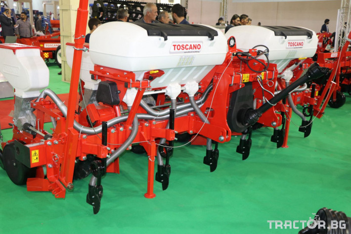 Сеялки Прецизна дискова пневматична сеялка Toscano 5 - Трактор БГ