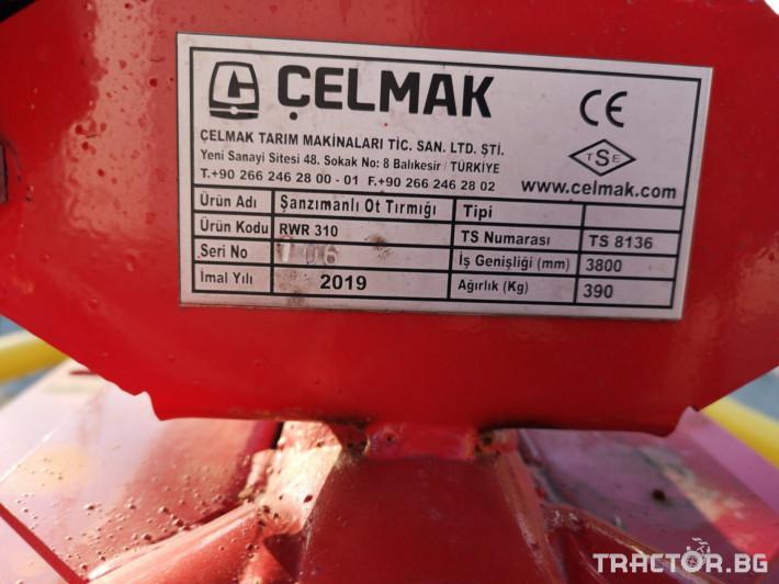 Други Роторен сеносъбирач CELMAK - RWR 310 3 - Трактор БГ