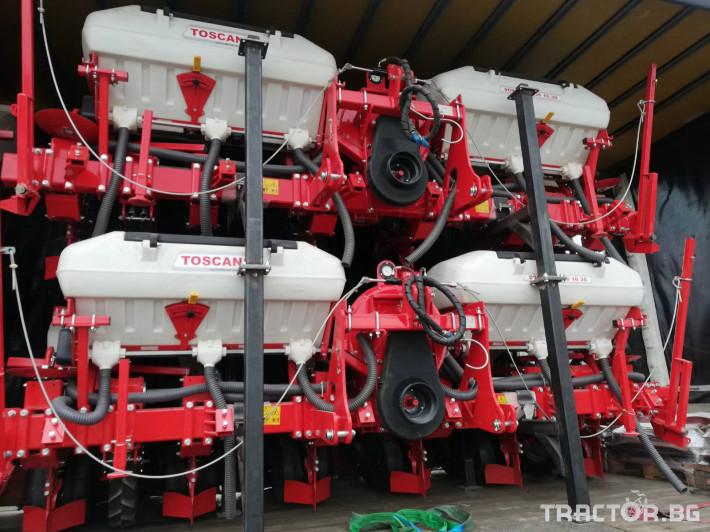 Сеялки Прецизна пневматична сеялка TOSCANO 7 - Трактор БГ