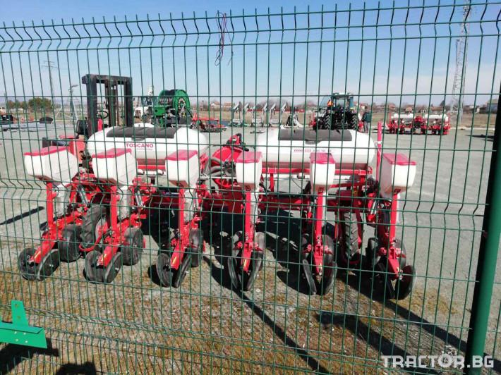 Сеялки Прецизна пневматична сеялка TOSCANO 8 - Трактор БГ