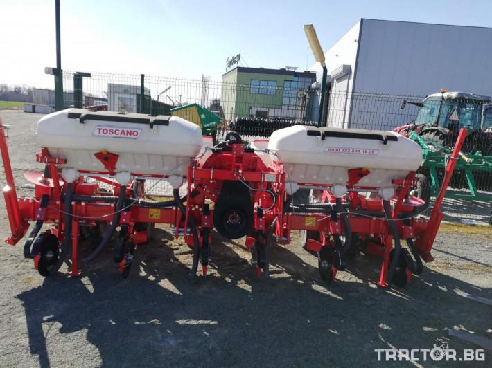 Сеялки Прецизна пневматична сеялка TOSCANO 10 - Трактор БГ