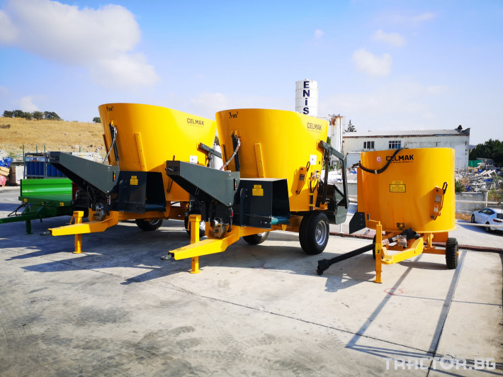 Машини за ферми Внос Вертикални миксери CELMAK 0 - Трактор БГ
