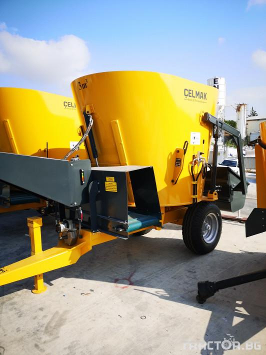 Машини за ферми Внос Вертикални миксери CELMAK 2 - Трактор БГ