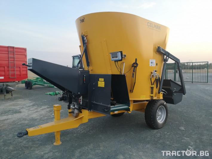 Машини за ферми Внос Вертикални миксери CELMAK 4 - Трактор БГ