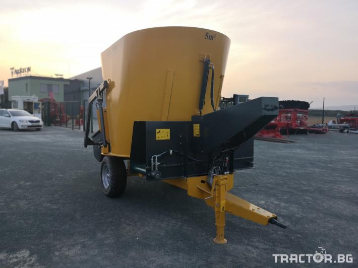 Машини за ферми Внос Вертикални миксери CELMAK 5 - Трактор БГ