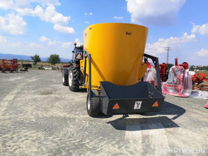 Машини за ферми Внос Вертикални миксери CELMAK 14 - Трактор БГ