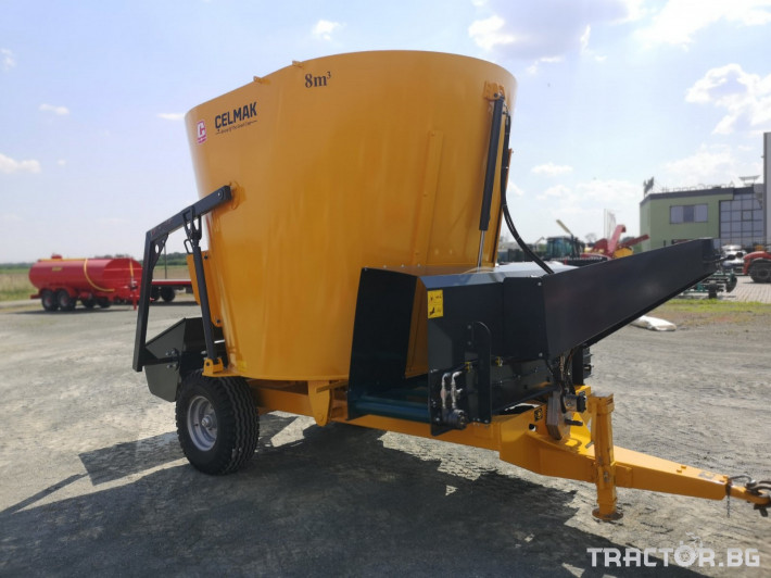 Машини за ферми Внос Вертикални миксери CELMAK 15 - Трактор БГ