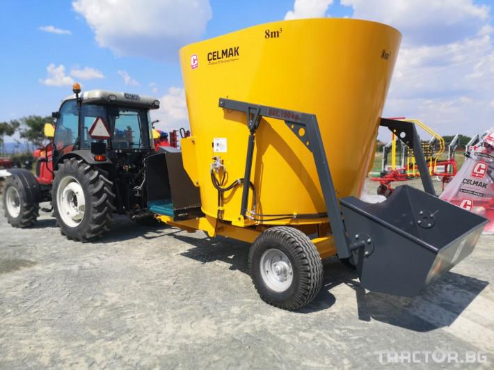 Машини за ферми Внос Вертикални миксери CELMAK 16 - Трактор БГ