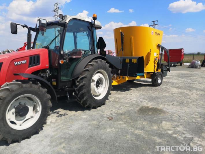 Машини за ферми Внос Вертикални миксери CELMAK 17 - Трактор БГ